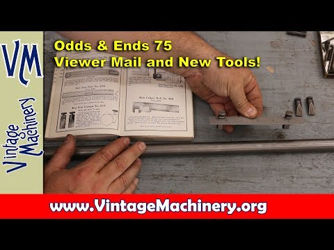 Odds & Ends 75:  Viewer Mail And New Tools!