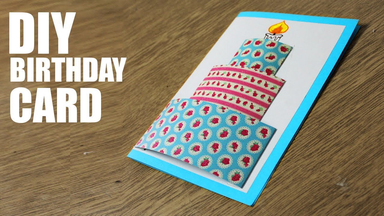 How To Make Happy Birthday Cards
