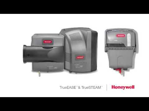"honeywell truesteamâ""¢ humidifier is easy to install honeywell truesteamâ""¢ humidification system"
