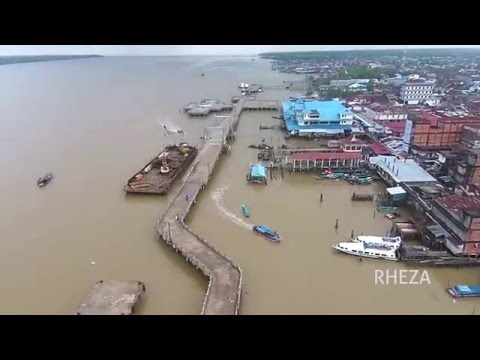 Water Front City Kuala Tungkal - Drone View