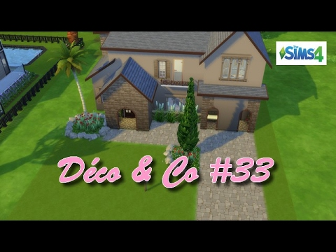 Les sims 4 d co co 33 maison m diterran enne youtube for Decoration maison sims 4