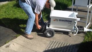 How To Unload A P-25 Pump With One Person. Machine Technologies.