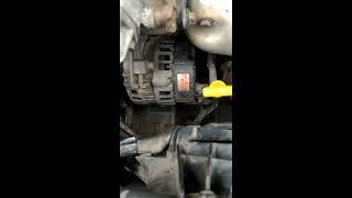 Ремень генератора Hyundai Accent Хендай Акцент Тагаз