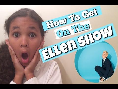 How to Get on the Ellen Show | Inspiring Vanessa