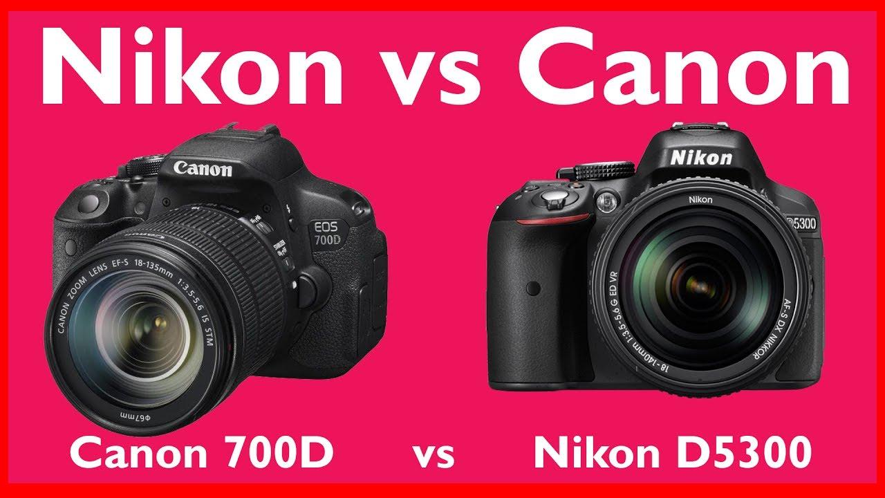 Nikon D5300 vs Canon 700D Hindi | Photography Tips and Tricks in Hindi