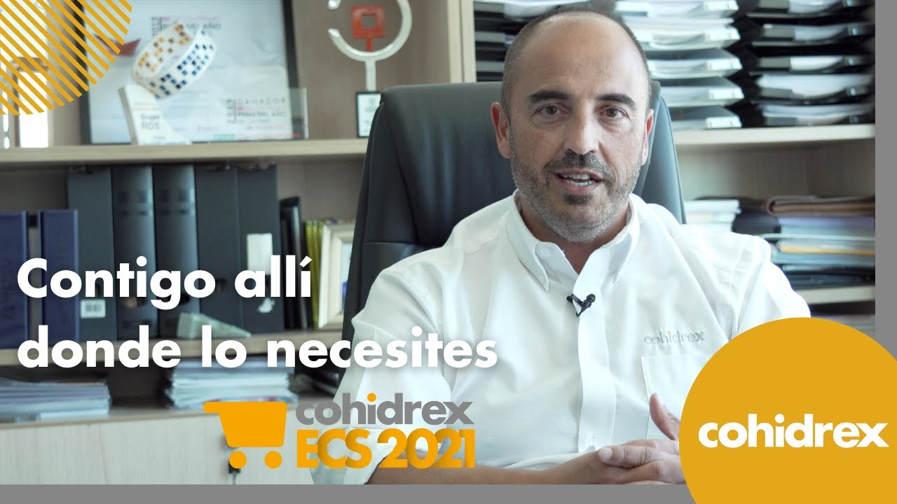 ECS 2021, contigo allí donde lo necesites | ECS 2021, with you wherever you need it