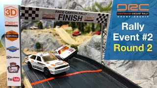 Diecast Rally Championship (Event 2 Round 2) Hot Wheels Car Racing