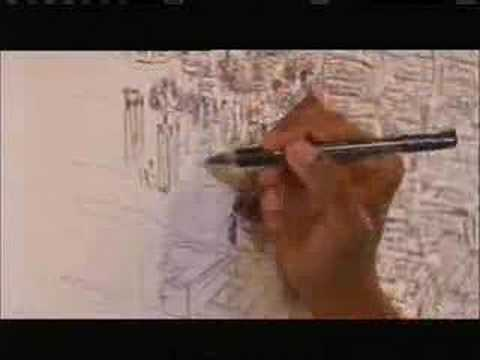 Stephen Wiltshire draws Rome from memory