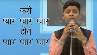 70th Annual Nirankari Sant Samagam Day 2    Master Deepanshu Ji Khanna  Heart touching Song     YouT