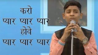 70th Annual Nirankari Sant Samagam Day 2    Master Deepanshu Ji Khanna  Heart touching Song     YouT