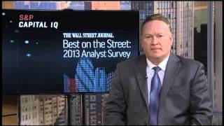 S&P Capital IQ Equity Analysts Recognized in 2013 Wall Street Journal Best on the Street Survey