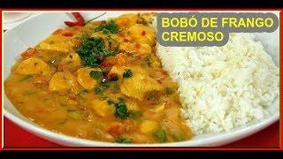 Receita de Bobó de Frango com Mandioca – Receita Deliciosa