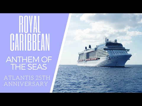 Short and Stout get on the Royal Caribbean Anthem Of the Seas Atlantis 25th Anniversary Cruise