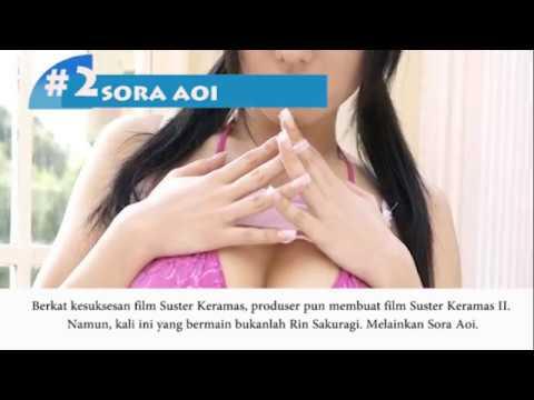 5 Artis Panas Jepang yang membintangi film Indonesia