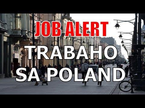 24 Oras: Job alert: Libo-libong manggagawa, kailangan sa Poland