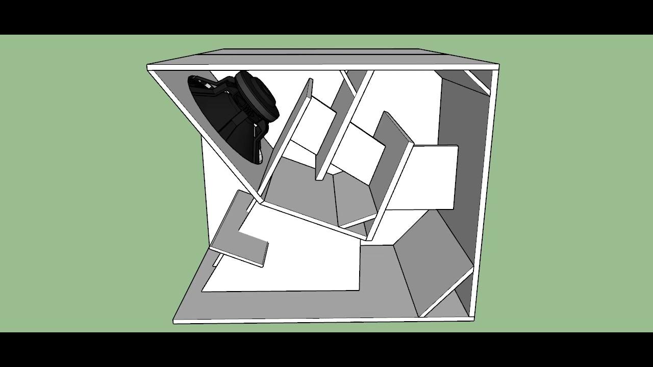 Hog Scoop Outdoor Subwoofer PA Cabinet Enclosure Plan