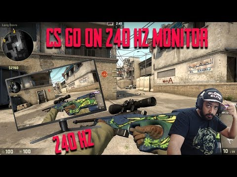 CS GO on 240 Hz Monitor | Counter Strike | 240 Hz Gaming Monitor