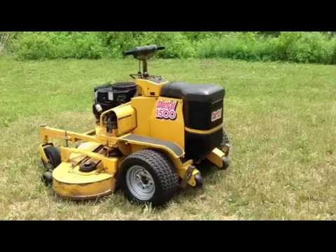 Hustler turf lawnmower