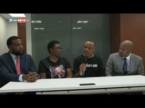 Interview with Botham Jean's mother and father turns emotional
