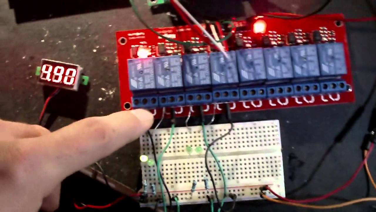 Using optoisolated relay board with AMC1280USB and 6DOF ext