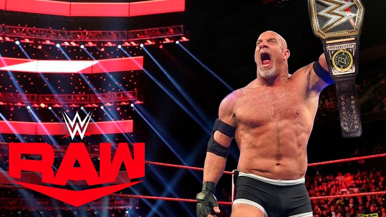 GOLDBERG CAMPEÓN DE WWE| RAW 26 de Julio 2021 Previa #RAW