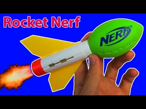 Thumbnail: MOST DANGEROUS NERF MOD! (ROCKET FOOTBALL)
