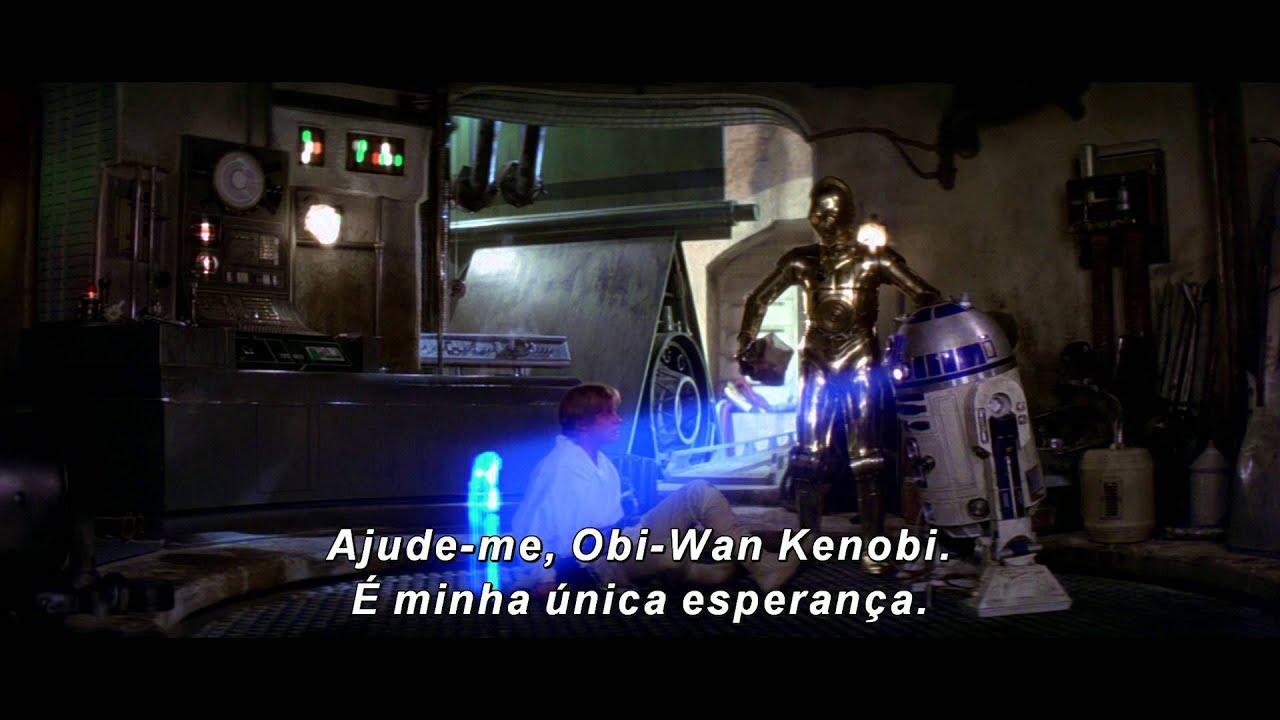 Star Wars: Uma Nova Esperança - Trailer