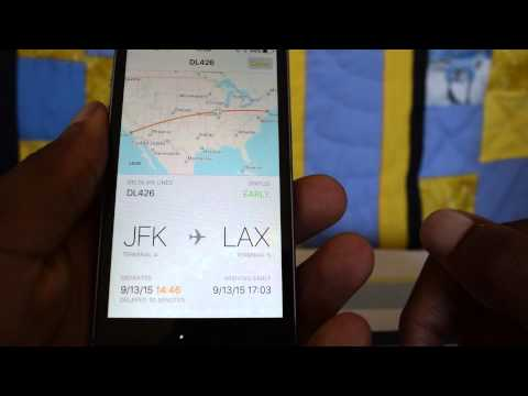 How To Use IOS 9's Flight Tracking Feature - IPhone Hacks
