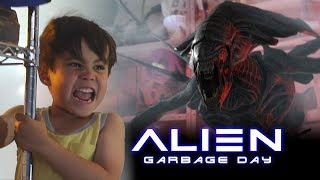 Action Movie Kid vs. Alien: Garbage Day