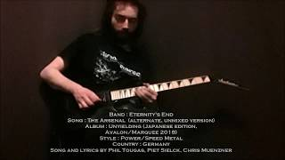 Eternity's End - The Arsenal Guitar Demonstration by Phil Tougas