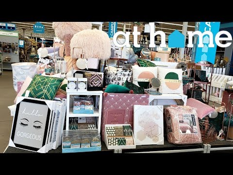 AT HOME STORE * HOME DECOR ROOM IDEAS * SHOP WITH ME 2019