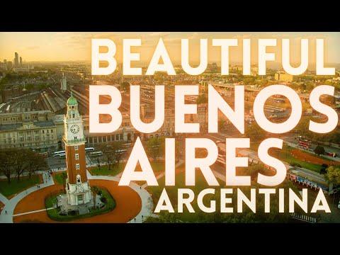 Buenos Aires Argentina Travel Tour 4K