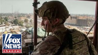 Marines arrive in Iraq to reinforce US Embassy