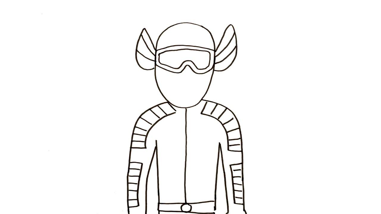 Drawing & Coloring Gundala Putra Lightning Indonesian Superhero