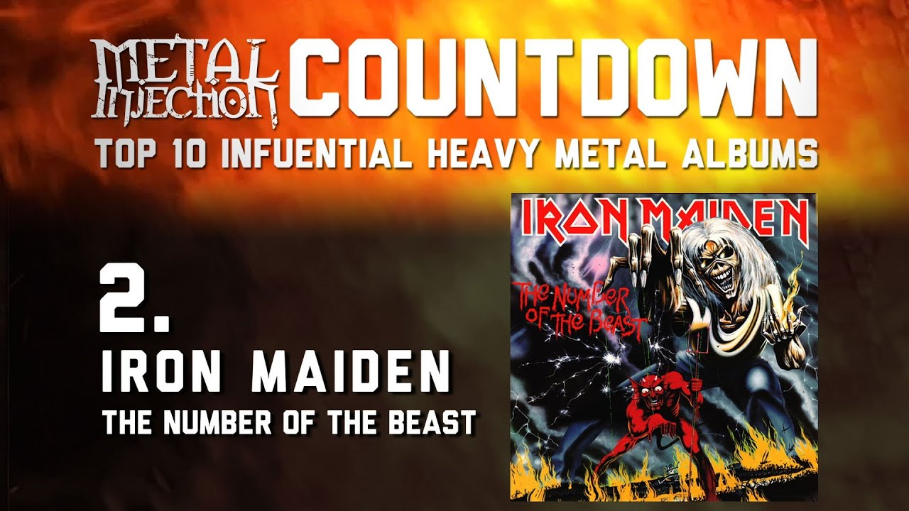 2. IRON MAIDEN The Number Of The Beast - Top 10 Influential Heavy Metal Albums Metal Injection