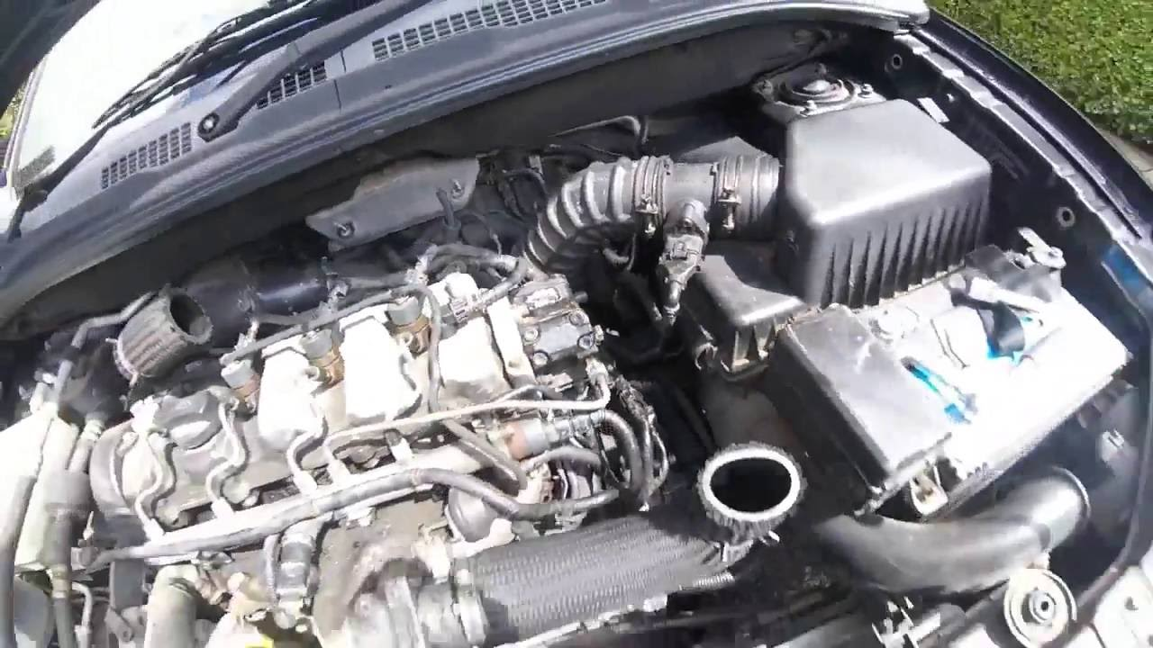 removing the fuel filter 2 0 crdi hyundai kia [ 1280 x 720 Pixel ]