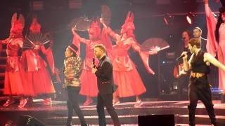 Take That - Relight My Fire - Odyssey Arena, Belfast. 5th May 2015