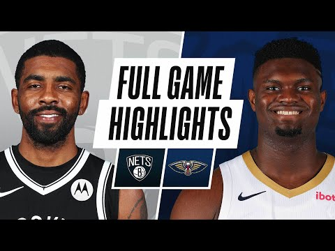 NETS at PELICANS | FULL GAME HIGHLIGHTS | April 20, 2021