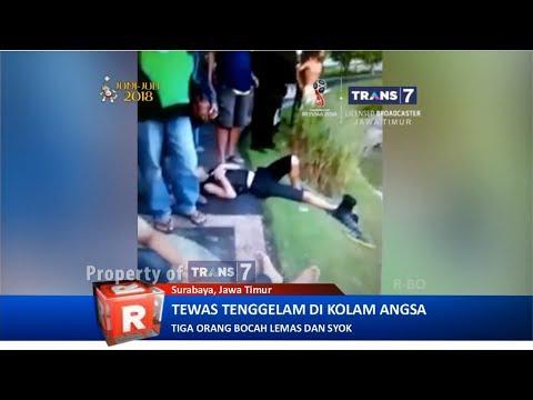 TRANS7 JATIM - Selfie!! Bocah Tewas Tenggelam di Taman Angsa Surabaya