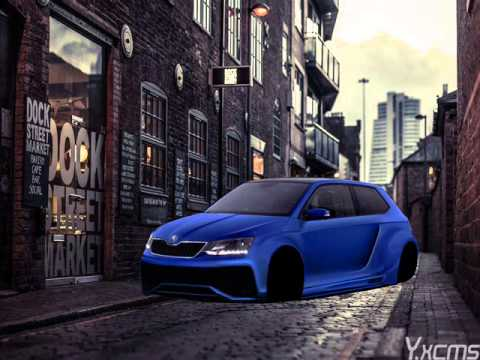 photoshop tuning skoda fabia virtual tuning youtube. Black Bedroom Furniture Sets. Home Design Ideas