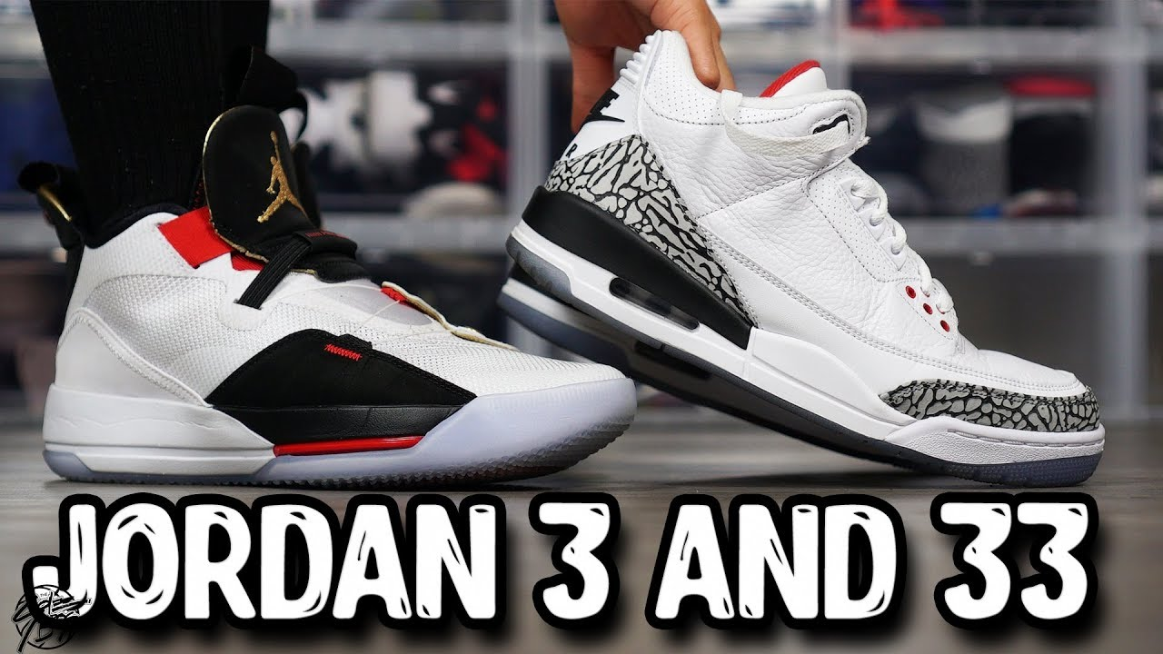 e4b0a70641a01d The Evolution of the Air Jordan 3 to the Jordan 33! - YouTube
