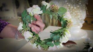 Wedding Floristry: How to make Circlet Headpieces (Bridal Headwear)