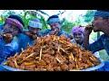 MUTTON BONE MARROW | Chettinad Mutton Bone Marrow Cooking and Eating in Village | Mutton Recipes