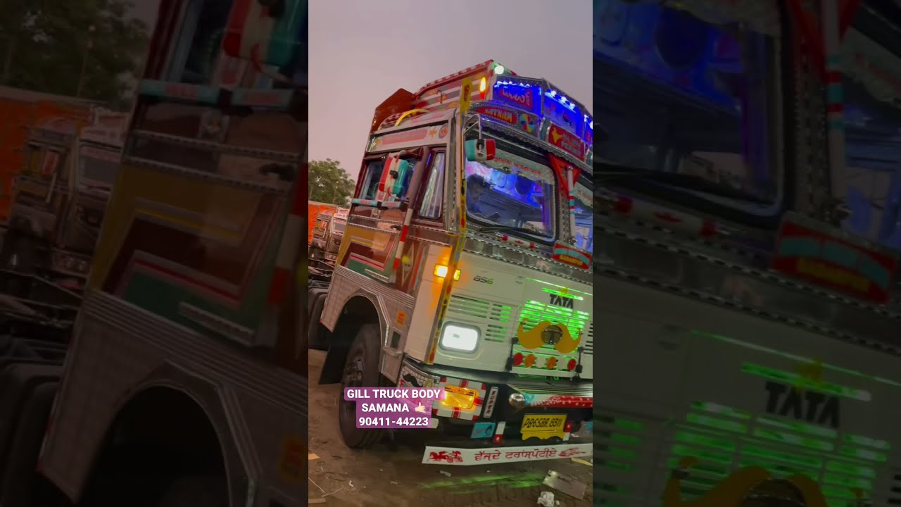 3D Cabin works by gill truck body samana