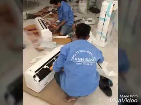 Lắp đặt máy lạnh chuyên nghiệp giá rẻ - YouTube