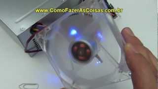 Como ligar um cooler direto na fonte do computador