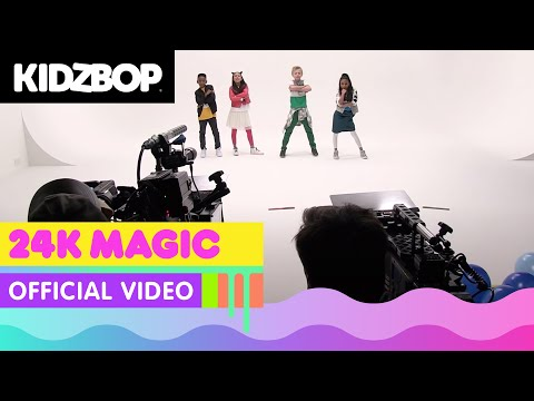 KIDZ BOP Kids - 24k Magic (Behind The Scenes Official Video)