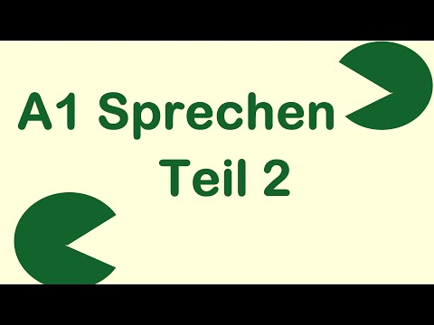 Asking & Giving Information | Sprechen A1 | Teil 2 | Desi Learn German | Urdu/Hindi