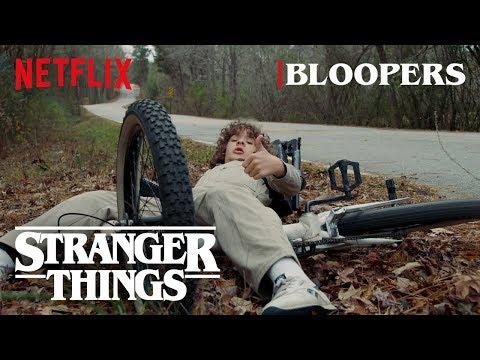 Stranger Things Season 2 Bloopers | Netflix