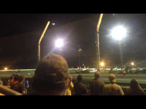 Big wreck at Greenville speedway
